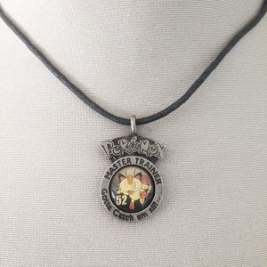 Meowth VTG 90s pokemon pendant necklace